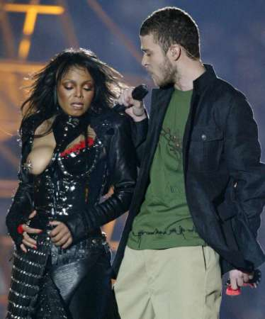 Janet Jackson During Flashing