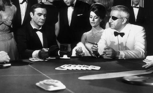 James Bond Gambling Game